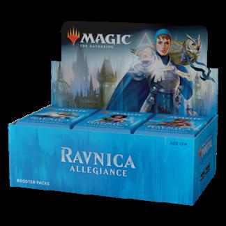 boosterbox magic ravnica allegiance
